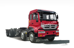 Huanghe C5B Series 8X4 Chassis of Dump Truck/Tipper