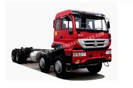 Golden Prince Series 8X4 Chassis of Cargo Truck