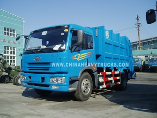 FAW 4X2 12 m3 Garbage Truck
