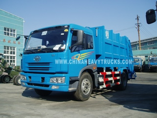 FAW 4X2 12m3 Garbage Truck