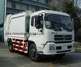 Dongfeng 4X2 12m3 Garbage Truck