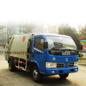 Dongfeng 4X2 5.5m3 Garbage Truck