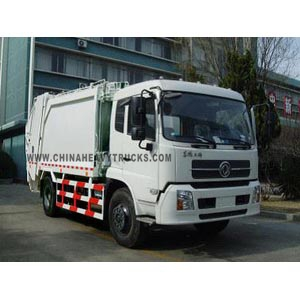 DONGFENG 4X2 10m3 Garbage Truck