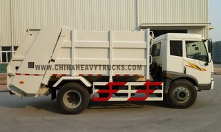 FAW 4X2 10m3 Garbage Truck
