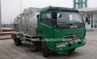 Dongfeng 4X2 3m3 Restaurant Refuse Collector