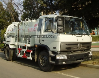 Dongfeng 4X2 5.5m3 Restaurant Refuse Collector