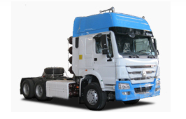 HOWO 6X4 Tractor Truck (Tipper CNG Gas)